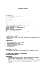 Recruitment Cv Recruitment Administrator Cv