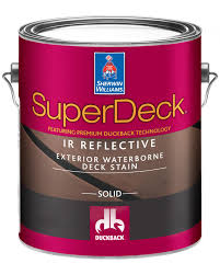 Sherwin Williams Deck Stain Reduces Surface Temp 20 Degrees