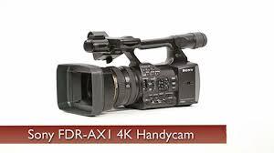 sony digital camera price. sony fdr-ax1 digital 4k video camera recorder price