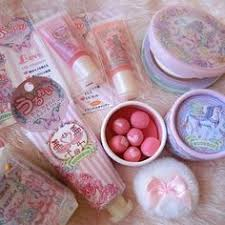 econeco anese beauty line featuring the artwork of econeco kawaii makeup anime makeup cute