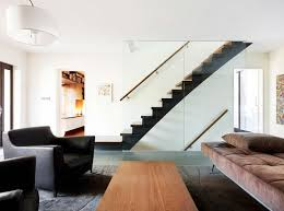view in gallery clear glass staircase walls