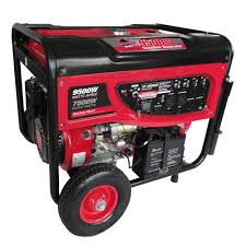 Smarter Tools GP9500EB 7 500 Continuous Watt Gasoline Powered