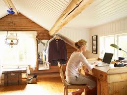 picture of home office.  home in picture of home office