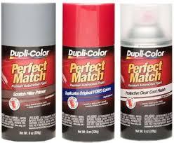 Duplicolor Perfect Match Color Chart Dupli Color Auto Spray Paint For Domestic Import Cars 8 Oz