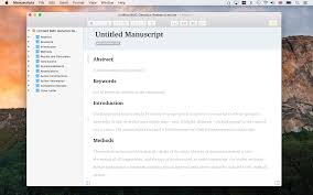 Free Apa Writing Software Manuscripts App