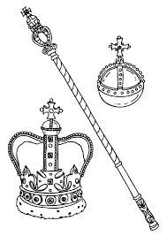 Small Picture King and Queen Crown Coloring Pages NetArt