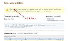 Confirm Of Receipt Confirm Receipt Paypal
