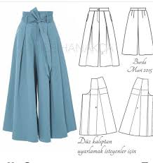 Culottes Pattern Magnificent FREE PATTERN ALERT 48 Pants And Skirts Sewing Tutorials On The