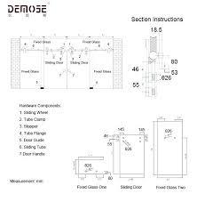 sliding glass door plan. Standard Sliding Glass Door Sizes Interior Decoration Size Plan