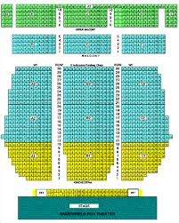 Bakersfield Fox Theater Seating Chart