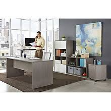 Home office desks sets Two Sided Boardwalk Office Suite 8825511 Office Furniture Desk Sets Complete Office Suites Officefurniturecom