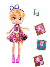 Кукла <b>Boxy Girls</b> Hazel 20 см. с <b>аксессуарами</b> в 4х коробочках, кор ...