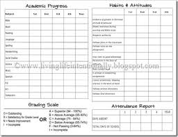 Printable Progress Reports For Elementary Students Free Homeschool Report Cards 123 Homeschool 4 Me