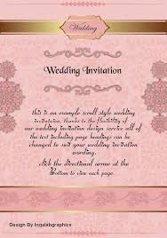 Coreldraw Wedding Card Designs Free Vector Templates Cdr