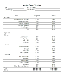 Financial Statements Templates Amazing Weekly Sales Report Template Or Of Printable Church Quarterly Cpa