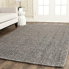 com safavieh natural fiber collection nf g hand woven intended for grey jute rug idea