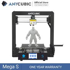 <b>ANYCUBIC Mega S Mega S</b> 3D Printer I3 Mega Upgrade Large Size ...
