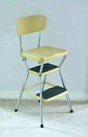 cosco stool stepping stool chair step stool chair retro stool vintage step stool chair 3 retro