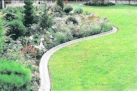 diy concrete edging forms landscape curbing
