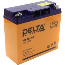 Аккумулятор для ИБП 12V 18Ah <b>Delta HR 12-18</b> — купить, цена и ...
