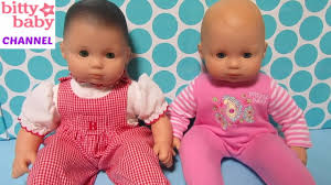 american girl bitty baby dolls bella and paisley go to american girl hospital by bitty baby channel