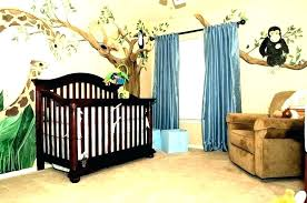 baby boy safari nursery jungle theme ideas themed room decor