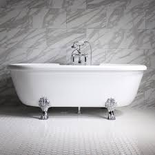 ss75a 75 sansiro air jetted double ended clawfoot tub