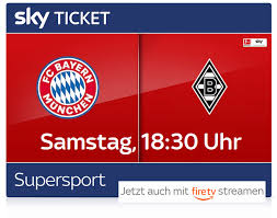 Borussia m'gladbach played against bayern münchen in 2 matches this season. Fc Bayern Gladbach Live Am 08 05 Mit Sky Ticket Jetzt 29 99 Bis Saisonende