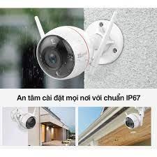 MỚI 2020] Camera 2M IP WIFI Ngoài Trời Thông Minh EZVIZ C3W PRO MÀU BAN ĐÊM  1080P FullHD C3N CV310 C3X C3WN HIKVISION
