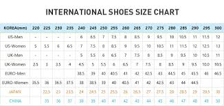 Korean Shoe Size Conversion Chart Kid Shoes Size Chart Korea Kids