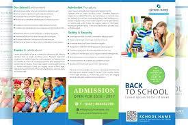 Kindergarten Brochure Templates Free Word School Design Pdf Indian ...