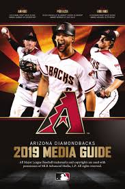 Media Guide Arizona Diamondbacks