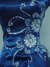 2018 Cherlone Plus Size Satin Blue Sparkle Party Prom Cocktail Evening Dress Uk 18 20 From Dress777 90 46 Dhgate Com