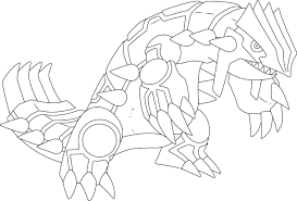 X1080 Xxa Primal Groudon Drawing 36 Pokemon Coloring Pages