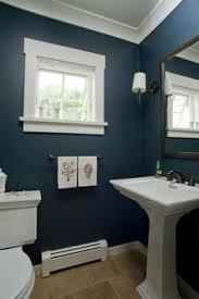 blue bathrooms. Coastal Home - Seaside Bathroom Pedestal Sink Nautical Hand Towels Custom Blue Bathrooms