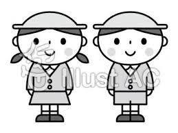 かわいい子ども園児保育園幼稚園イラスト No 1307384無料
