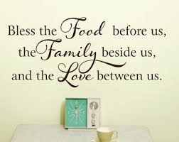 Unique Kitchen Decorations For Walls Wall Decal Decor Signs Bless This On