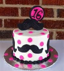birthday cake for girls 11. Wonderful For Mustache Birthday Cake For 11 Year Old Girl  DIY In Birthday Cake For Girls O