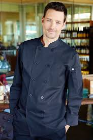 Navy Cook Torino Navy Blue Chef Coat Chef Works Canada