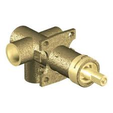 brass rough in 3 function transfer shower valve 1 2 in