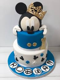 Mickey Mouse 1st Birthday Cake 1st Birthday Cake In