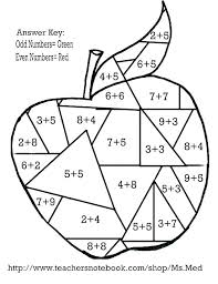 math coloring worksheets grade pages color by numbers for fact to be worksheets for 2nd grade