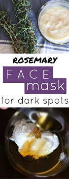 diy face mask for dark spots such a great at home treatment for age spots