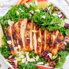 grilled chicken salad. Plain Salad To Grilled Chicken Salad S