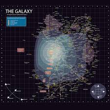 Star Trek Galaxy Chart Star Wars Galaxy Map By Offeye Star Wars Planets