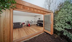 outdoor garden office. garden music casuta_gradina outdoor garden office