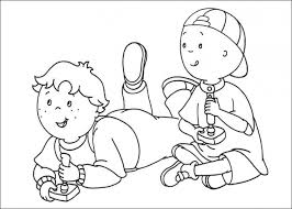 Small Picture 20 Free Printable Caillou Coloring Pages EverFreeColoringcom