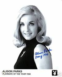 RARE 1966 PMOY Allison Parks signed 8x10 Playboy Promo! | #24921397