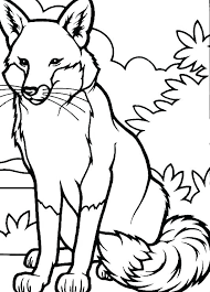 fox pictures to print. Interesting Print Coloring Pages Of Foxes Fox Pictures To Print Red  Tails Inside Fox Pictures To Print I