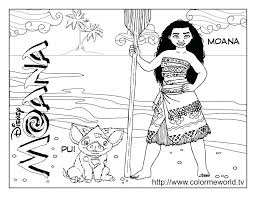 Moana Coloring Page Print Moana Coloring Pages Index Coloring